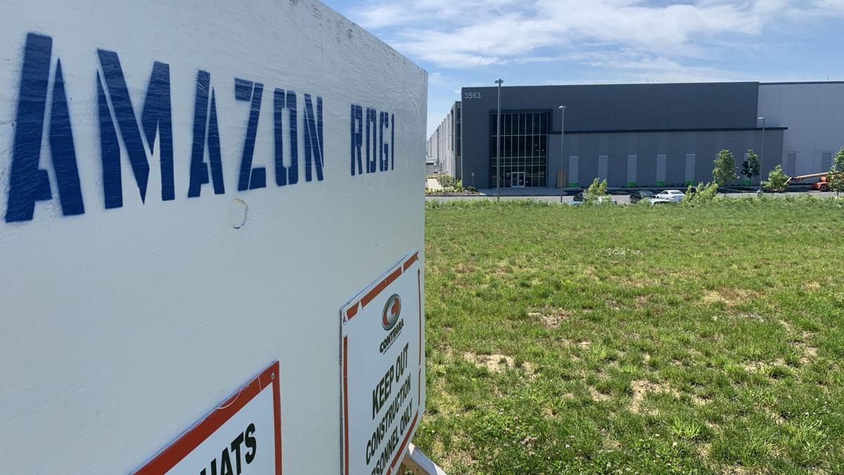 New Amazon warehouse in Upper Bern