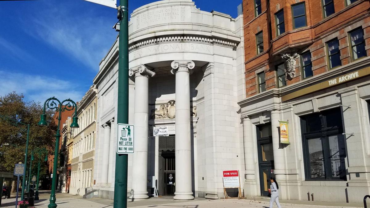 400 block of Penn Street, Reading buildings