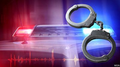 handcuffs police car generic graphic