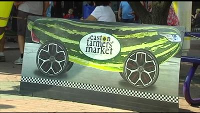12th annual Zucchini 500 held at Easton Farmers Market