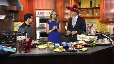 Casa Toro Mexican Grill Chef prepares Mexican Dishes for Cinco De Mayo
