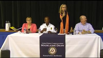 Residents sound off at gun violence town hall hosted by local lawmaker