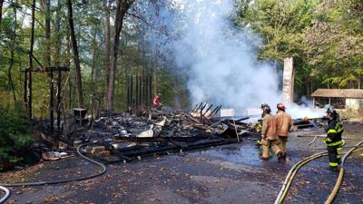 Fire company helps fellow volunteer firefighter after home was destroyed by fire