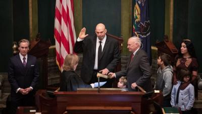 Pa.'s new lieutenant governor talks of ties to Berks