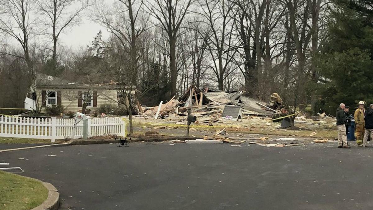 House explosion Bucks