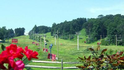 Bear Creek Mountain Resort in the spring - without snow