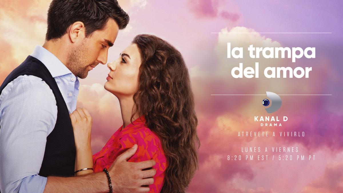 """La Trampa del Amor"" (Afili Aşk) on Kanal D Drama by Xfinity, Xfinity On Demand, Verizon FIOS TV World, and Total World Channel 1586."
