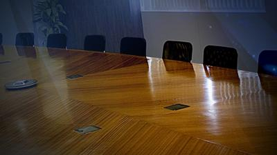 conference room table chairs generic graphic