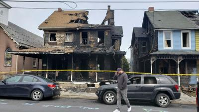 3-alarm fire destroys homes, damages church in Fleetwood