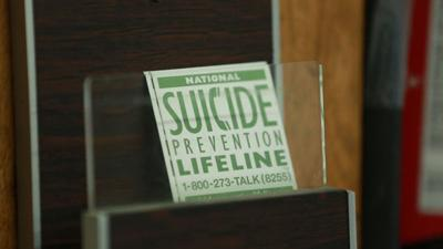 Suicide rates sharply increased across the country, CDC report says
