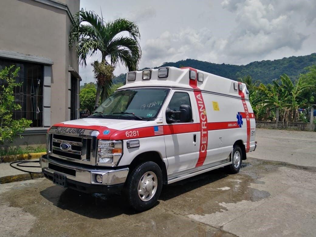 Ambulance in San Pedro Sula, Honduras