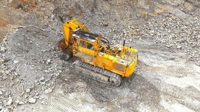 Generic quarry excavation