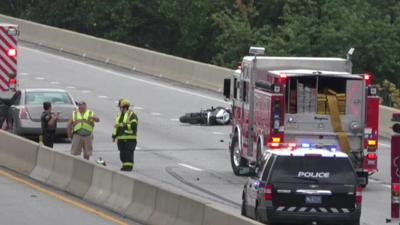 Motorcyclist seriously hurt in crash on West Shore Bypass