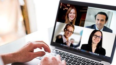 Online meeting virtual meeting GoToMeeting Zoom generic