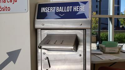 Berks County ballot drop box
