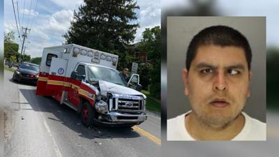 Gonzalez, accused of stealing Reading FD ambulance