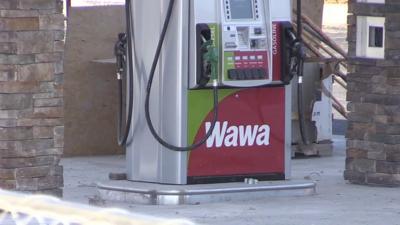 Wawa gas station pump Emmaus