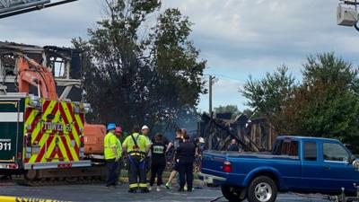 Fire destroys homes in Lower Providence Twp.