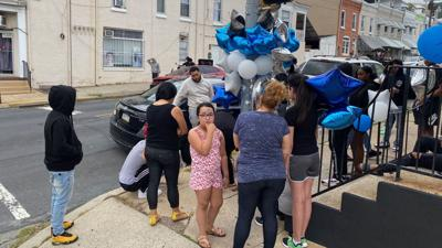 Vigiil for teen homicide victim in Reading