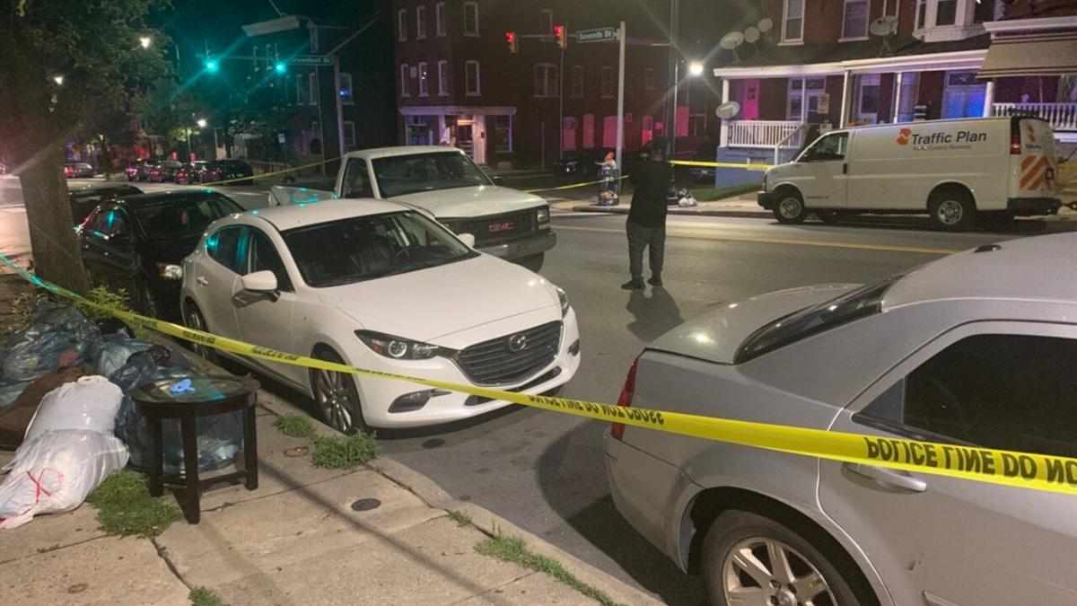 Person hit by car in Allentown