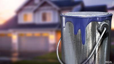 Lead paint - house graphic