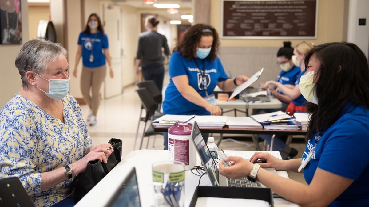 Penn State Health St. Joseph Medical Center COVID-19 - coronavirus vaccine clinic