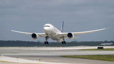 United Airlines opens wide-body airplane hangar at Newark Liberty International Airport in New Jersey