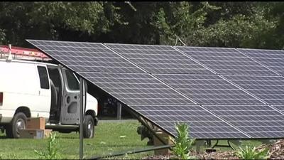 Local initiative encourages solar panel use