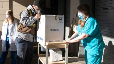 COVID-19 vaccine arrives at St. Joseph Medical Center
