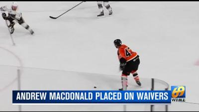 Flyers waive veteran defenseman Andrew MacDonald