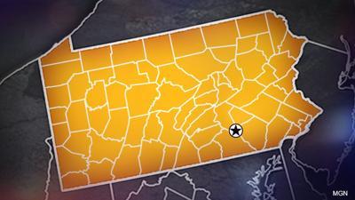Pennsylvania map generic