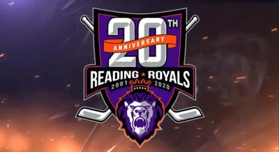 Reading Royals 20th anniversary season logo