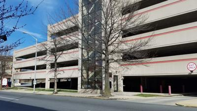 Reading Parking Authority garage