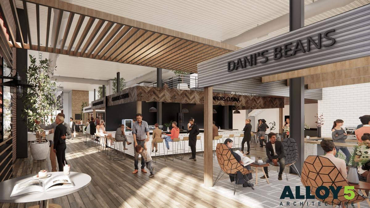 Riverport Public Market rendering 1