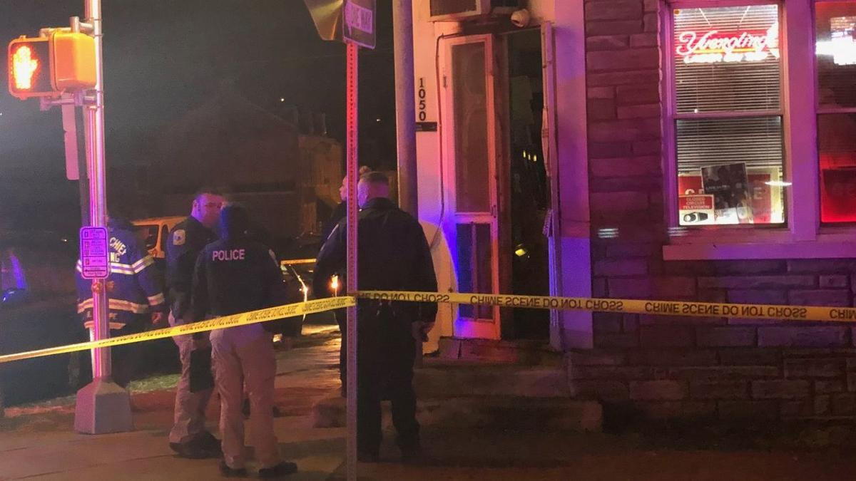 Shooting at Nick's Cafe at South 11th and Chestnut streets in Reading