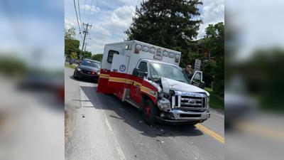 Reading Fire Department ambulance stolen