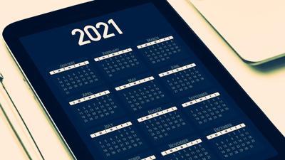 2021 calendar generic