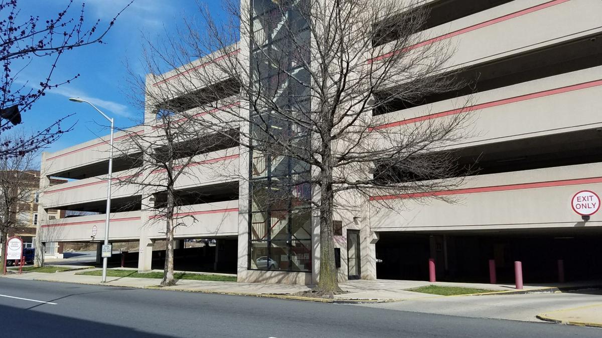 Chiarelli Plaza parking garage in Reading