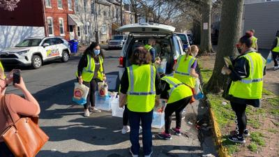 Volunteers provide support, supplies to Reading families