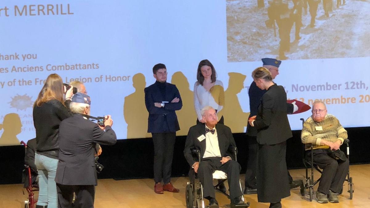 WWII veteran honored Irene pak 3