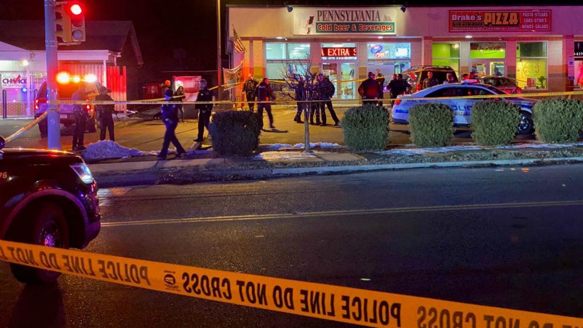 Allentown Police Close Off Strip Mall, Set Up Crime Scene