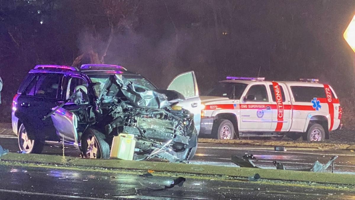 Crash in South Whitehall Township-Allentown 2