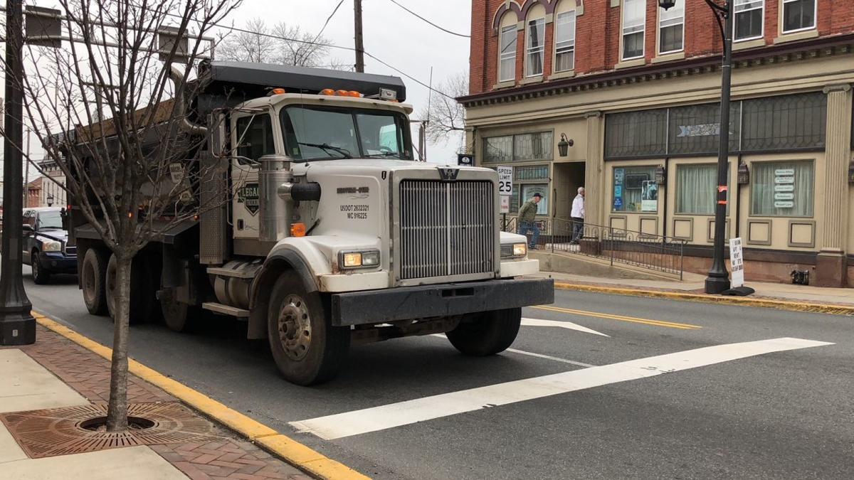 12-5-19 Landfill truck in Boyertown.jpg