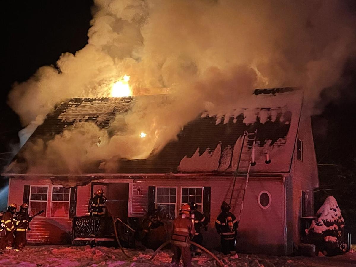 Palmerton house fire 1