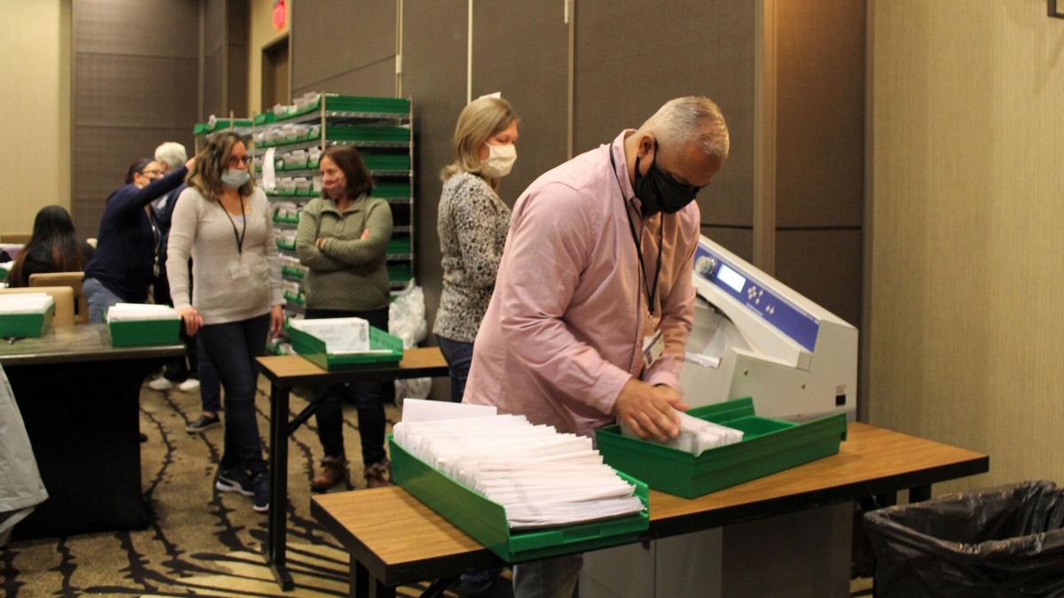 Berks mail-in ballot canvas