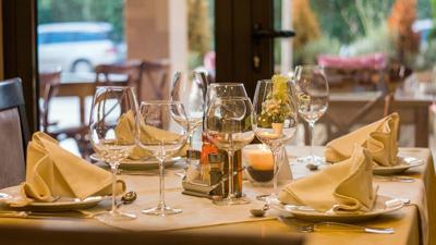 restaurant table generic