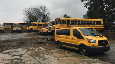 Exeter Township school buses