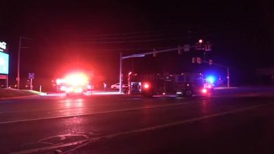 Crews respond to a 2 car crash in Allentown