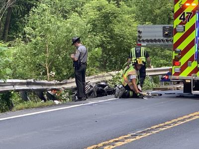 Route 145 North Whitehall Township crash