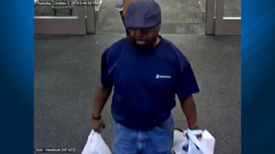 LA Fitness Theft Suspect